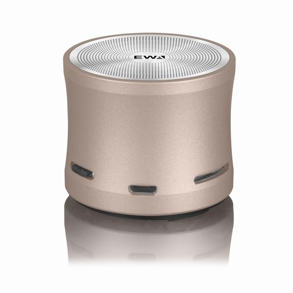 2019 best Bluetooth speaker with sound retail subwoofer the market most popular small steel gun quality exfacto EWA A109 mini