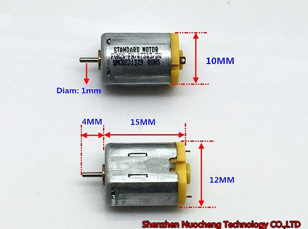 top popular Brand new and original N20 standard motor DC3V~6V 10*12*15mm micro DC motor high quality,low noise~ 2021