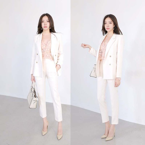 Customized the most popular casual ladies suit women's three-piece suit (jacket + pants + vest) women's business dress