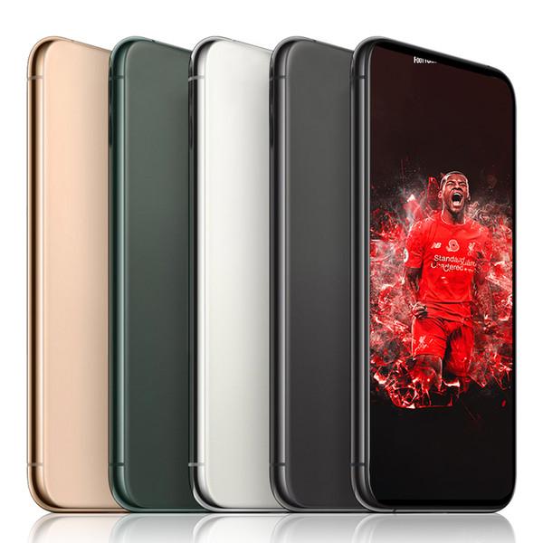 6.5inch GooPhone 11 max Smartphone 1G RAM 4G ROM Quad Core 8MP caméra 3G WCDMA SmartPhones