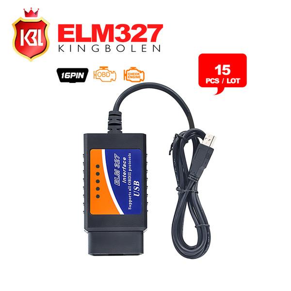 2019 DHL Free ELM327 Interface USB OBD2 Auto Scanner V1 5 OBDII OBD 2 II  Elm327 Usb Super Scanner From Ruxiantrading, $134 68 | DHgate Com