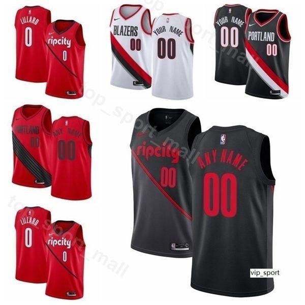 timeless design 3d690 326f5 2019 Print Men Youth Women Portland Trail Basketball Damian Lillard Jersey  CJ McCollum Al Farouq Aminu Jusuf Nurkic Enes Kanter Layman Shirts From ...