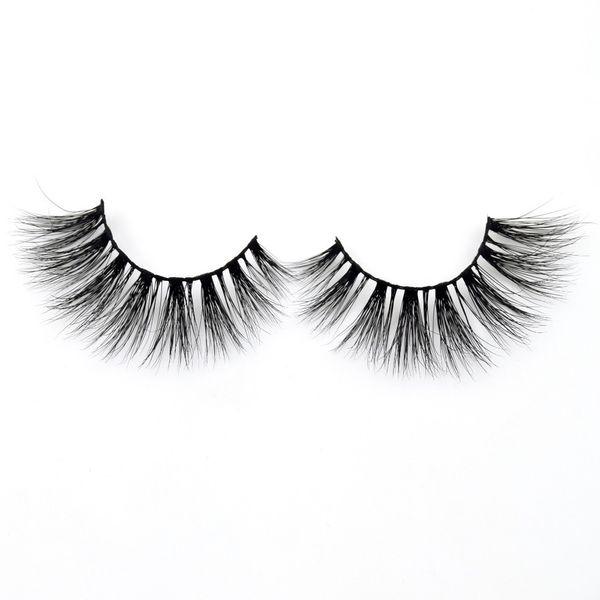 2019 Eyelashes 3d Lashes Handmade Full Strip Medium Volume False Eyelashes Makeup Eye Lashes D119