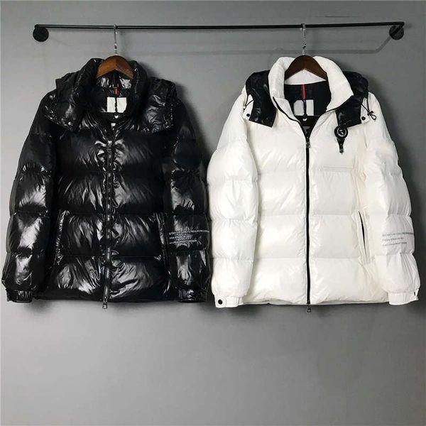 Mens Designer Jacket Hooded Parka Down Coat Reflective Windbreaker Brand Zipper Jacket Thick Down Coat Luxury Tops Jackets