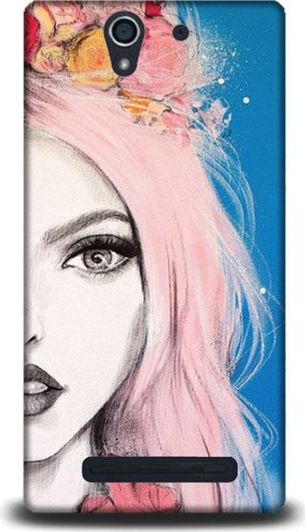 best selling Bad Girls Pattern Dynamics Xperia C3 Cases Cases Ship from Turkey HB-000058254