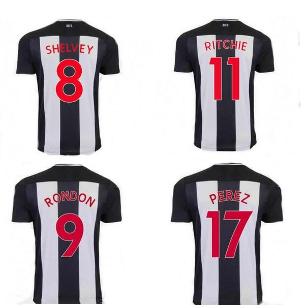 19 20 die elstern fan fußball trikots PEREZ RITCHIE SHELVEY fußballtrikots MURPHY GAYLE SAIVET kinder trikots home uniformes de futbol