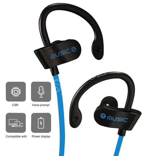 RT558 Sport Cuffie senza fili Bluetooth V4.2 controllo del pulsante Auricolari colorati Bluti-in Mic per IOS IPhone X XR Con pacchetto di vendita al dettaglio da DHL