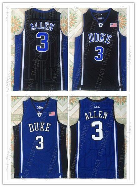 Cheap Duke Blue Devils #3 Grayson Allen Basketball Jersey Stitched MEN S-XXL High quality free shipping