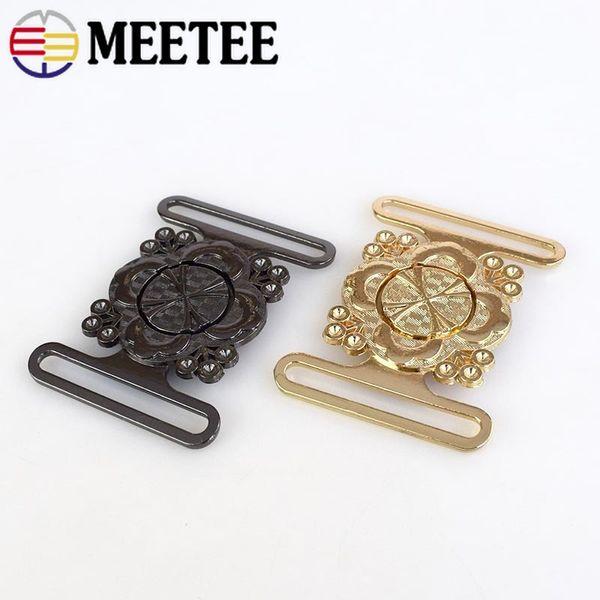 Retro Ouro, Liga Gun Clipe Preto Fivela Rodada Casaco Windbreaker Belt Buckle Handwork Botões de Metal para Decoração de Vestuário AP001