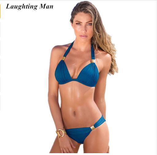 Sexy Top 2019 Maillot De Bain Brésilien Femmes Bandage Bikini Set Beachwear Maillots De Bain Biquini Maillot De Bain Maillots De Bain Bikini Femme