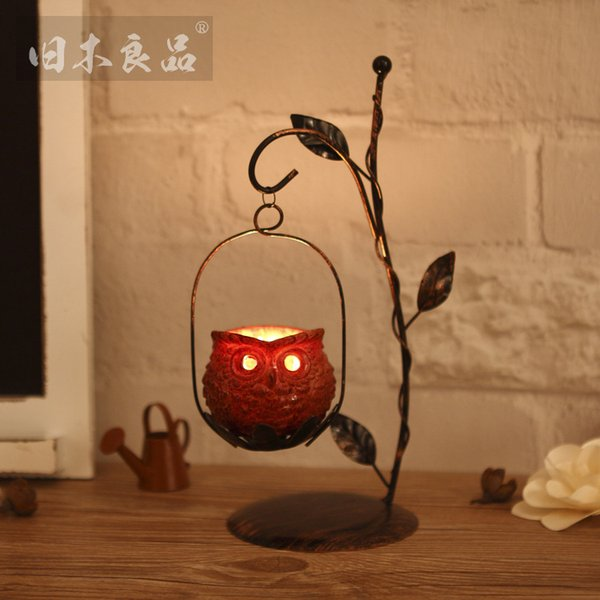 Iron art Candlestick Home Creative Branch type Candlestick American Wedding Hotel accessories new style factory wholesale