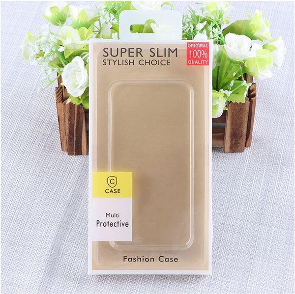 Boîte d'emballage neutre pour iphone en PVC pour téléphones généralistes iphone XS Xs Max XR