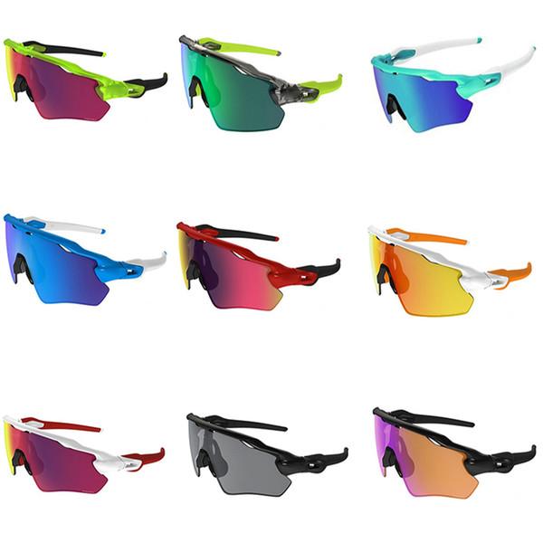 Lunettes de soleil de moto demi-cadre haut de gamme lunettes de sport lunettes de soleil pour hommes lunettes de soleil tactique élégant lunettes de navigation de plaisance 10 PCS