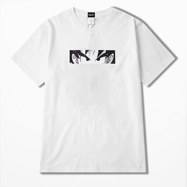Мода мужские дизайнерские футболки Casual Mens Летний спорт с коротким рукавом высокого качества хип-хоп Мужчины женщин Белый черный