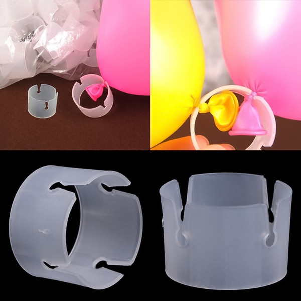 Balloon Wedding Party Decor Arch Stand Connectors Clip Ring Buckle Birthday Party Wedding Decoration Accessories