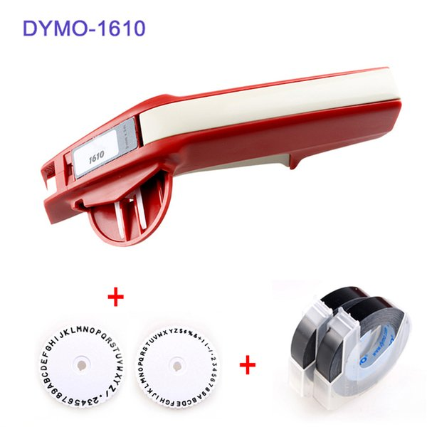 New 1610 Manual Label Printer For Dymo 1610 Manual Label Maker 3D Embossing  Plastic Machine,Cannon Printers Cheap 3d Printer From Charless, $35 7|