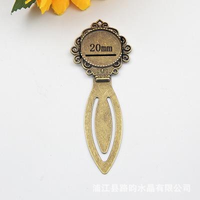 Jewelry Settings Blank Charm Lega Donne fiore del cammeo Gufo corona in acciaio 20 millimetri Preferiti Impostazioni rotonda cabochon monili accessoies