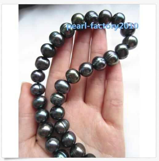 5eb54e2adfcf2 2018 18 11 12 MM AAA SOUTH SEA NATURAL Black PEARL NECKLACE 14K GOLD CLASP  From Lxlwanpearl, $24.12 | DHgate.Com