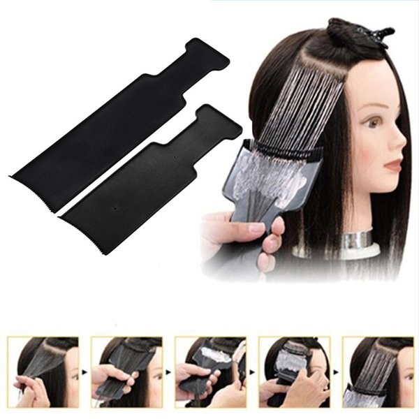Hairdressing Professional Hairdressing Pick Color Board 27.2X8 cm Plastic anti-classic static hair salon tools