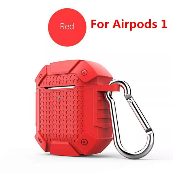 Red For airpods 1 (Without Light Hole)