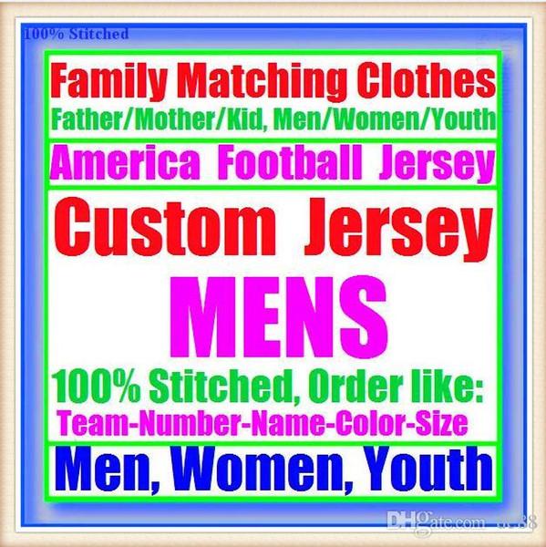 Maglie di football americano personalizzato Tampa Bay Dallas college autentico retro rugby calcio baseball hockey basket 4xl 5xl 8xl uomini rossi