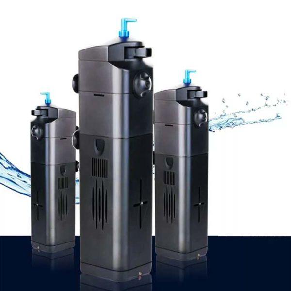 top popular Sunsun JUP-21 22 23 8W Aquarium Submersible Filter Pump UV Sterilizer Lamp Water Clarifier Fish Tank Filter Accessories 2021