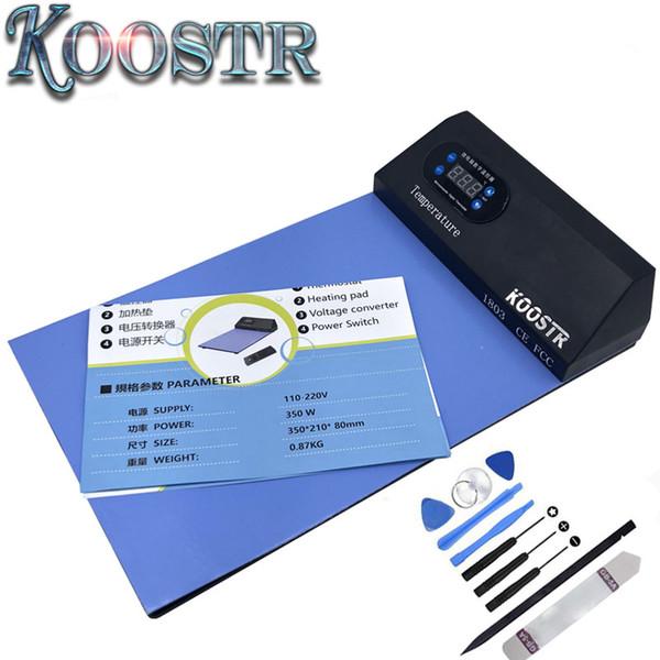 CPB cellulare schermo lcd kit di riparazione separatore strumento aperto separatore lcd macchina riscaldamento pad telefono e ipad tappetino aperto