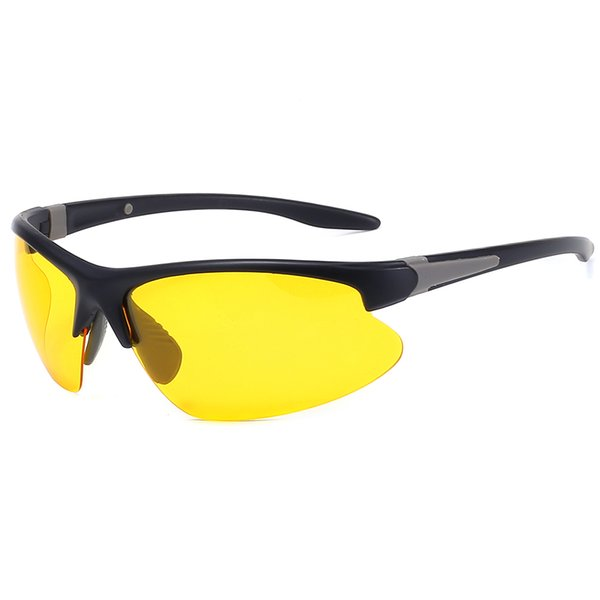 Black frame yellow piece