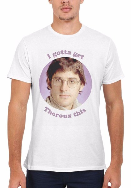 Tengo que conseguir Louis Theroux BBC Funny Hombre Mujer Chaleco sin mangas Camiseta Unisex 1896 Hombres Camiseta Imprimir algodón de manga corta