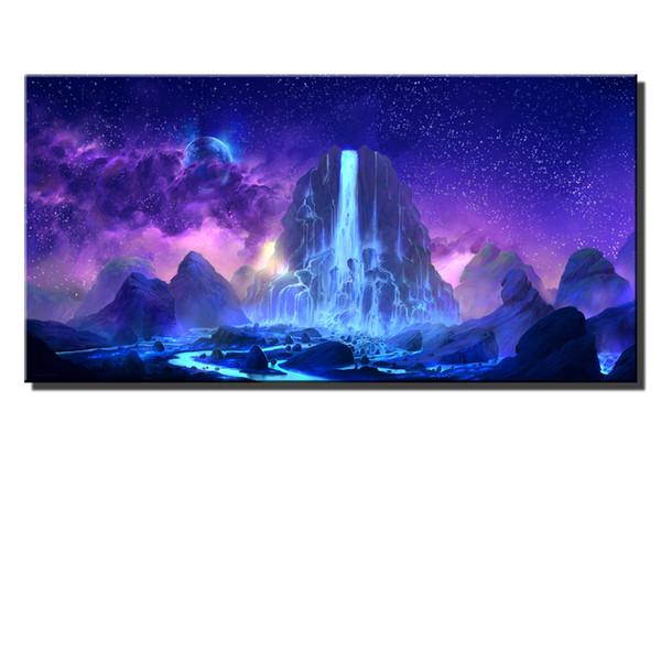 Fantasy Art Mountain Gate