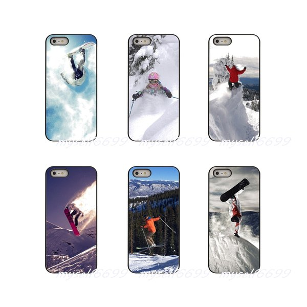 Snow Or Die Ski Snowboard Sport Hard Phone Case Cover For Apple iPhone X XR XS MAX 4 4S 5 5S 5C SE 6 6S 7 8 Plus ipod touch 4 5 6