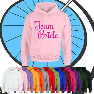 Ladies Team Bride Курица Night Hoodie Girls Party Обручальное кольцо Стен с капюшоном Топ