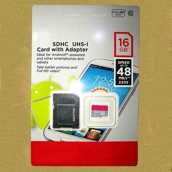 Ultra micro sd kart 128 GB 64 GB 32 GB 16 GB bellek Sınıf 10 TF kart 98 M / S flash kart ücretsiz kargo Ypf17-2