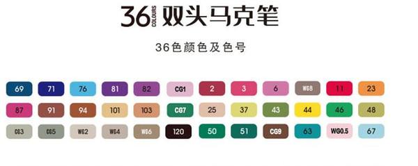 36PCS / مجموعة