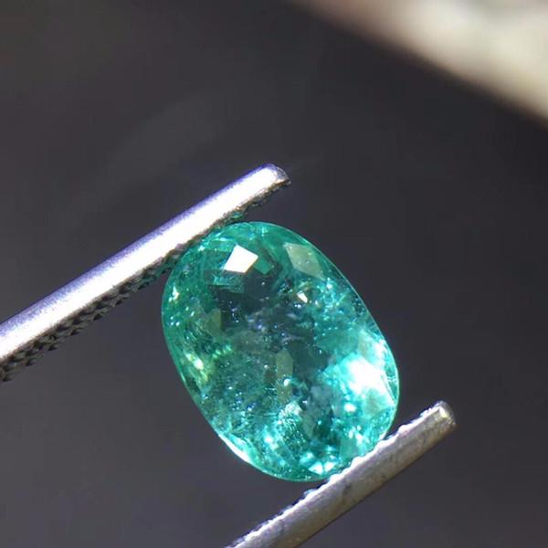 As pedras preciosas azuis de néon naturais da turmalina de Paraixo de 1.55ct desobstruem as gemas frouxas