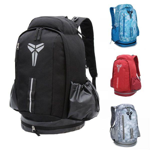 best selling Famous Brand Kobe Designer Backback Men Women School Bags Outdoor Backpack Boys Girls Designer Bag 5 Color
