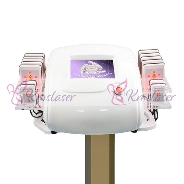 650nm LipoLaser Laser Lipo Laser Instrument Fast Fat Burning Remover Remodelage du corps formant la machine de perte de poids zerona (perte de poids de pales 14pcs)