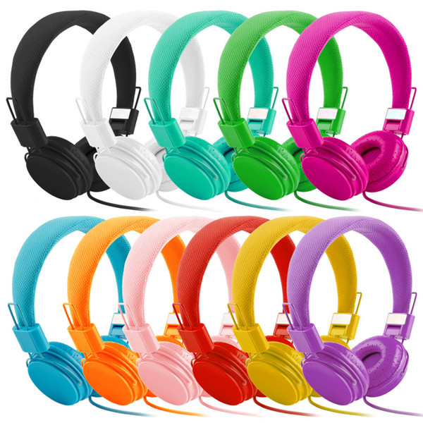 El mejor regalo para los niños Auriculares estéreo de alta calidad para auriculares de música Auriculares auriculares con micrófono para iphone xiaomi