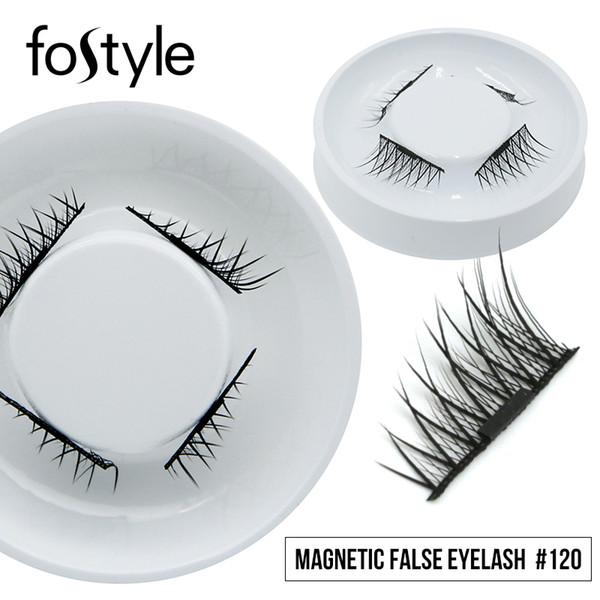 Magnetic Eyelashes 3d Magnetic Lashes with One Magnet Natural Long False Eyelashes Mink Eye Lashes Extension Supplies Make Up