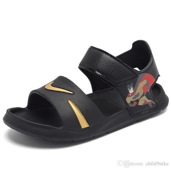 Enfants Enfants Garçons Sandales Pour Filles En Cuir Ventilation Chaussures Enfants Marque Sneakers Fille Enfants Marée De Mode livraison gratuite