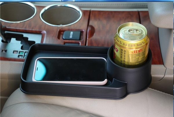 top popular Universal Folding Car Cup Holder Drinks Holders Auto Seat Storage Box For Infiniti FX-series Q-series QX-series Coupe EX JX35 Cl 2019