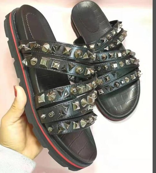 best sneakers 9060a 047bf Christian Louboutin CL Fashion Classic Men'S Sandals Casual Shoes Z2 Boots  Online Cowboy Boots For Women From Li369258369, $85.31| DHgate.Com