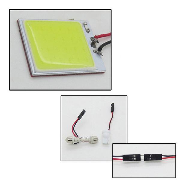 Ampoule de voiture lecture carte cadeau cadeau disponible la main la plus récente chic auto éclairage intérieur panneau utilisable