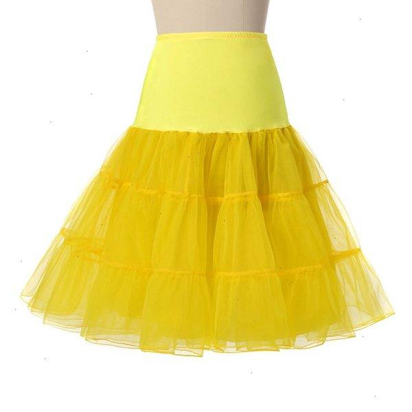 Желтый Petticoat