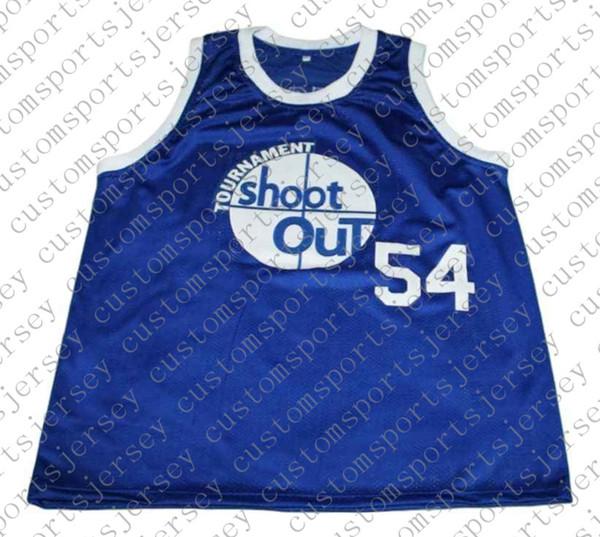 toptan Kyle Watson # 54 herhangi bir sayı adı BAY BAYAN GENÇLİK BASKETBOL JERSEYS Yeni Basketbol Jersey Mavi Dikişli Custom Shoot Out Tournat