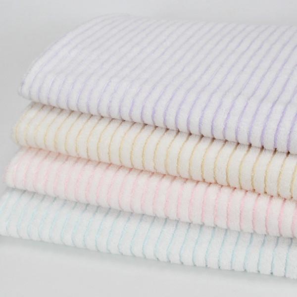 Полосатое простое хлопковое банное полотенце 140 * 70см Lady Girls Душ жаккардовое полотенце Обертывание для тела Банный халат Пляжные халаты Товары для дома TTA296