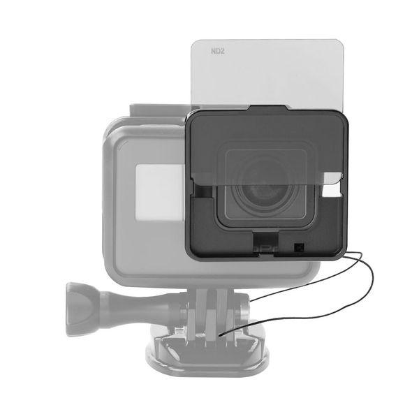 Square ND Lens Filter Protector Kit Set (ND2/ND4/ND8/ND16) for GoPro Hero 5 Naked Camera w/ Mounting Frame Holder
