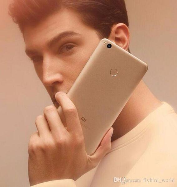 "HOT Xiaomi Mi Max 2 android 4GB RAM 32GB ROM 6.44"" Display Snapdragon 625 Octa Core unlocked cell phones Max2 12.0MP 4K Camera 5300mAh"