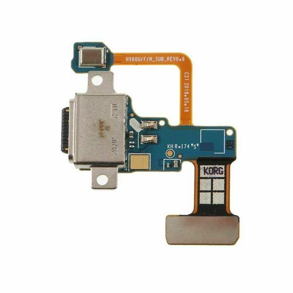 Samsung Galaxy Not N960F N960U N960 için Not 9 Mikro USB Şarj Portu Bağlayıcı Dock Flex Kablo Değiştirme