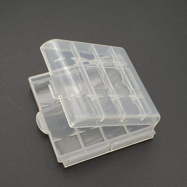 Custodia in plastica Custodia portaoggetti Custodia per 10440 14500 AA AAA Contenitore per batteria Contenitore per borsa Custodia per scatola